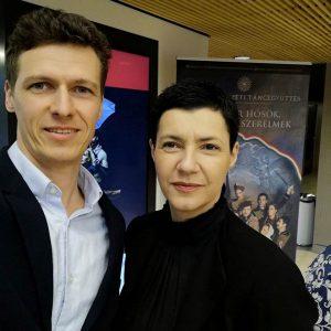 Kovács Maja és Vincze Dániel